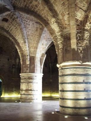 Haifa crusader fortress