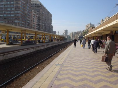 Alexandria Train station
