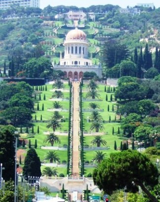 Bahai Temple in Haifa