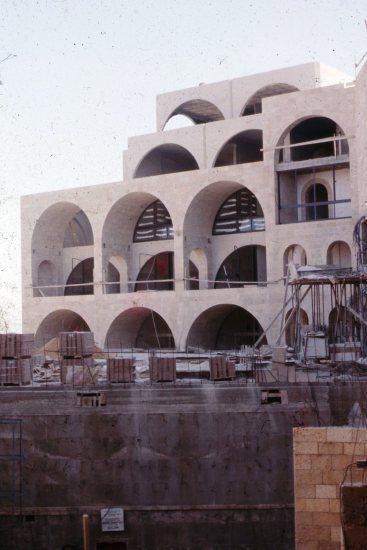 Yeshiva Porat Yosef - 1975 - Architect Safdie