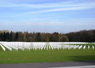 American Military Cemetery in Neuville-en-Condroz