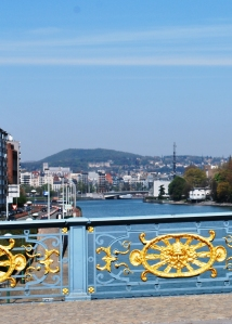 Fragnee Bridge and the River Meuse
