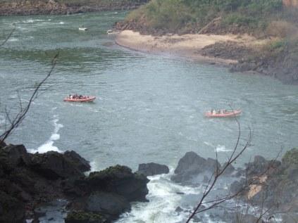 Upper Iguassu river