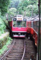 Hakone Tozan Railway (箱根登山電車, Hakone Tozan Densha), Japan's oldest mountain railway