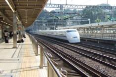 Older bullet train