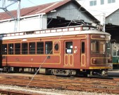 The Randen tram line, Kyoto's only surviving streetcar