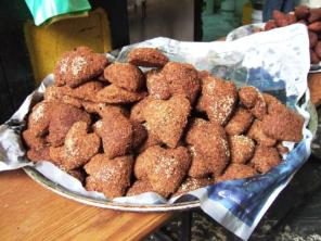 Heart-shaped Falafel