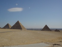 Pyramids, duh!