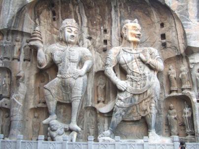 Longmen Grottoes Buddha Carvings