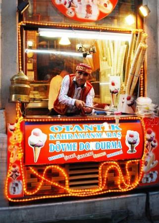 Istanbul Ice cream vendor 3519927073