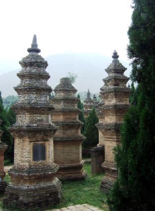 Shaolin Temple Pagoda Forest