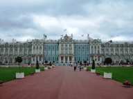 Catherine Palace in Tsarskoye Selo (Pushkin), south of St Petersburg