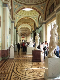 Hermitage Museum in Saint Petersburg Russia