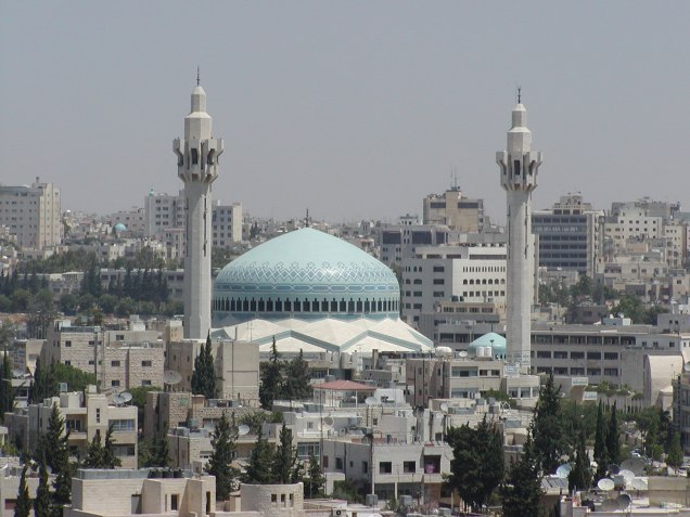 The grand mosque in Amman, Jordan