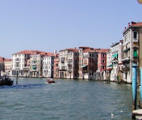 The Gran Canal in Venice, Italy