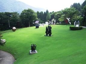 The Hakone Open-Air Museum in Hakone, Japan