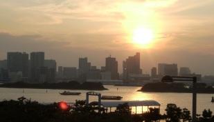 Tokyo sunset, Tokyo, Japan