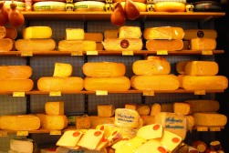 A cheese shop in Amsterdam, Holland