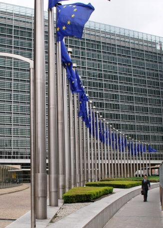 European Union headquarters in Brussels, Belgium
