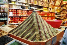 Mountain of spice! in Istanbiul, Turkey