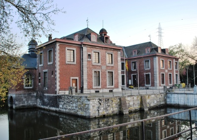 The Château de Péralta in the Angleur neighborhood of Liege, Belgium where I grew up. Now the local government building.