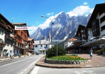 Cortina d'Ampezzo, in the Dolomite region of Italy